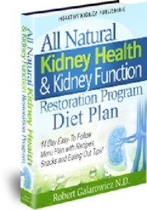 kidney health and kidney function